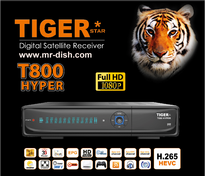 TIGER T800 HYPER Satellite Receiver Softwar, Tools - All