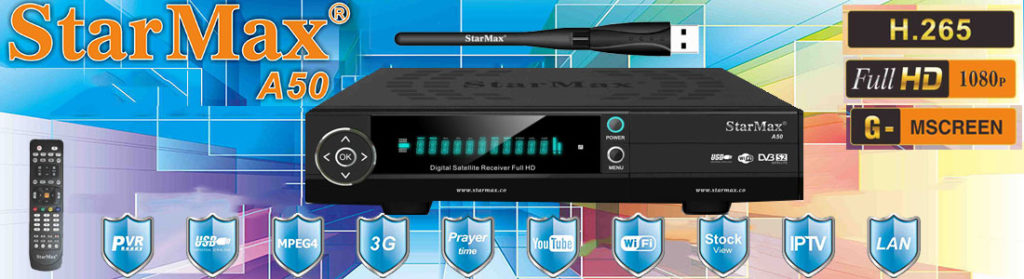 StarMax A50 Full HD Receiver Software - All Receiver Software