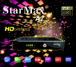 StarMax A7 HD Receiver Software - All Receiver Software