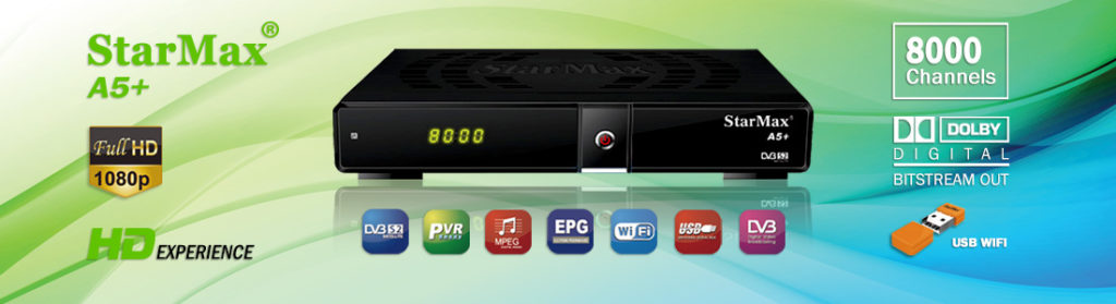 StarMax A5 Plus Full HD Receiver Software - All Receiver Software