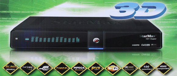 StarMax 1X1 Super Full HD Receiver New Software