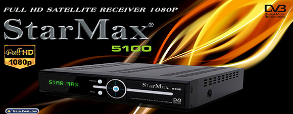 StarMax 5100 Full HD Receiver Software - All Receiver Software