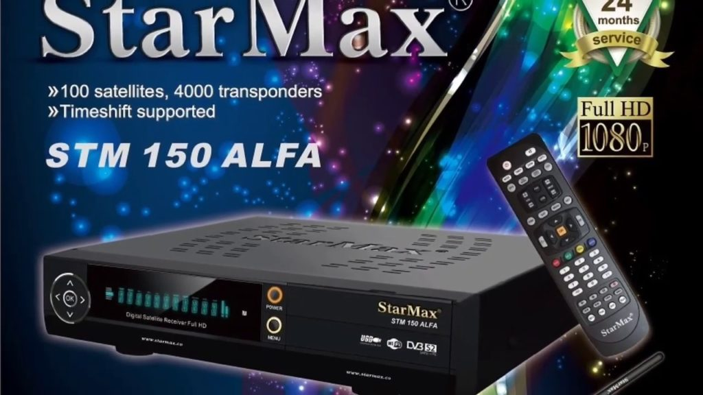 StarMax STM 150 ALFA Full HD Receiver New Software