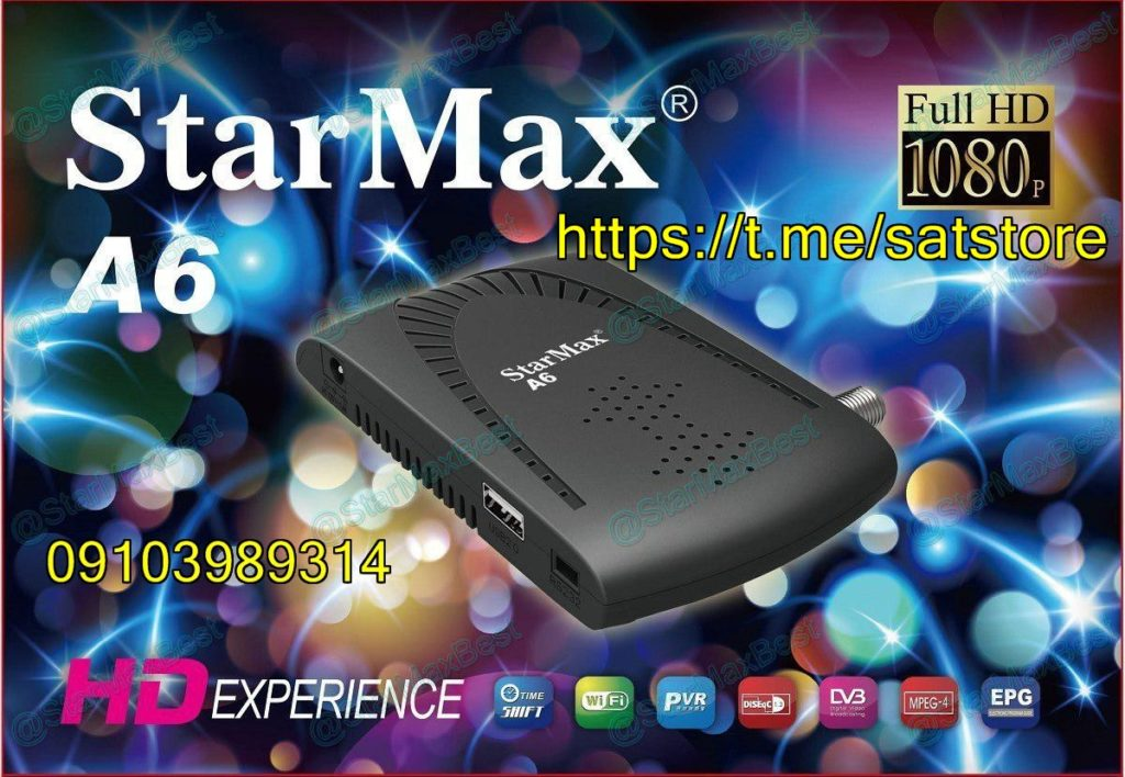 StarMax A6 Mini Full HD Receiver New Software - All Receiver Software
