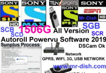 Multimedia 1507G 4M All Version New Autoroll Powervu Software 2019
