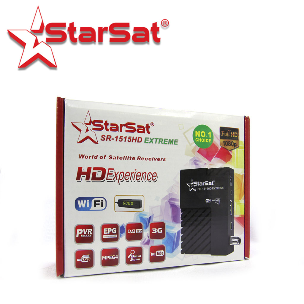 Starsat SR-1515HD_EXTREME Receiver Latest Software - All Receiver