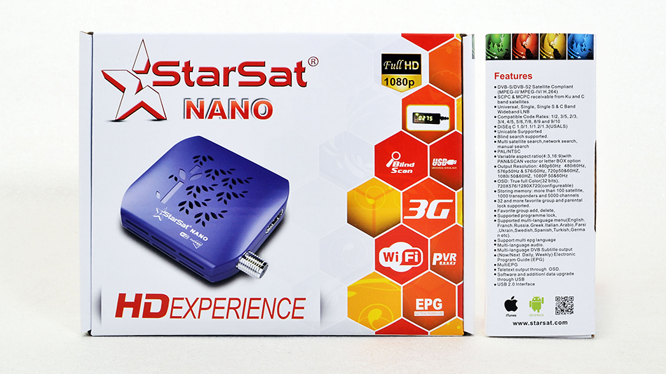 Starsat NANO HD Receiver New Software - All Receiver Software