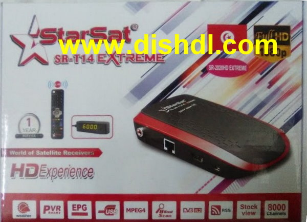 Starsat SR-T14 Extreme Latest Software - All Receiver Software