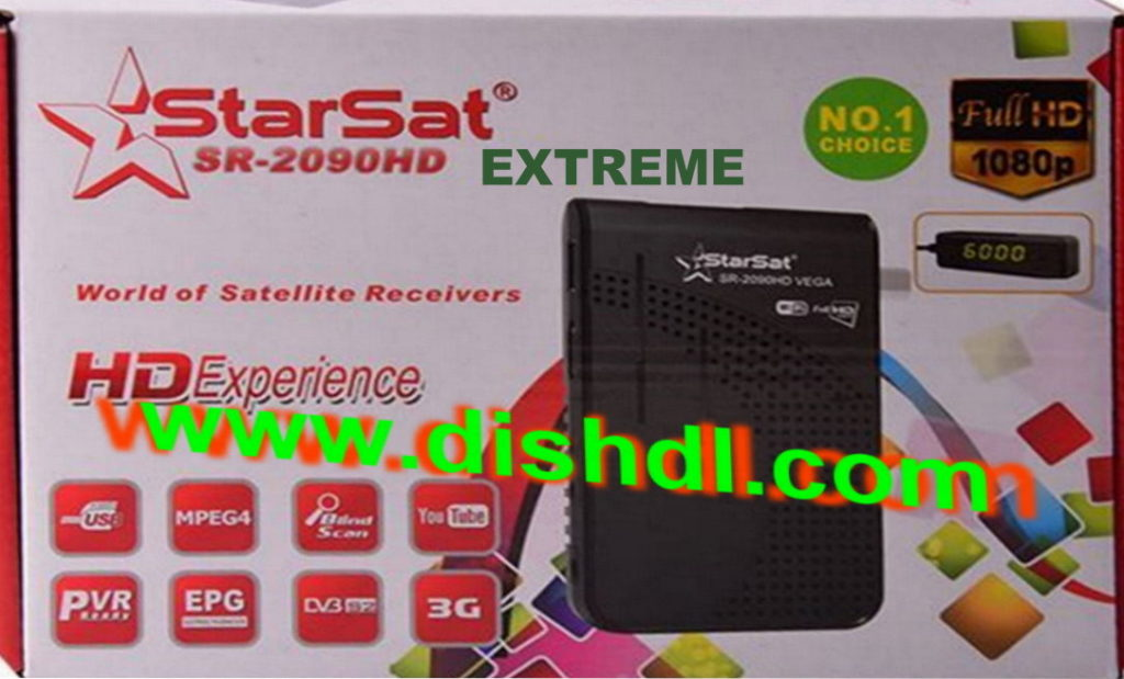 Starsat SR-2090HD Extreme Latest Software - All Receiver Software